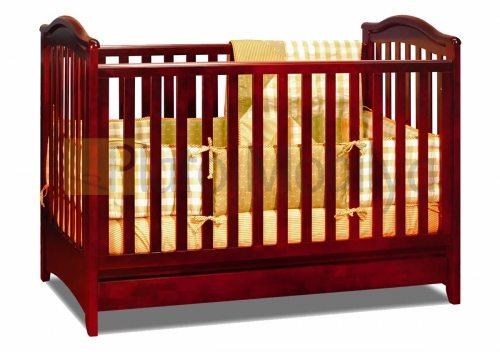ahşap bebek beşiği bb 031