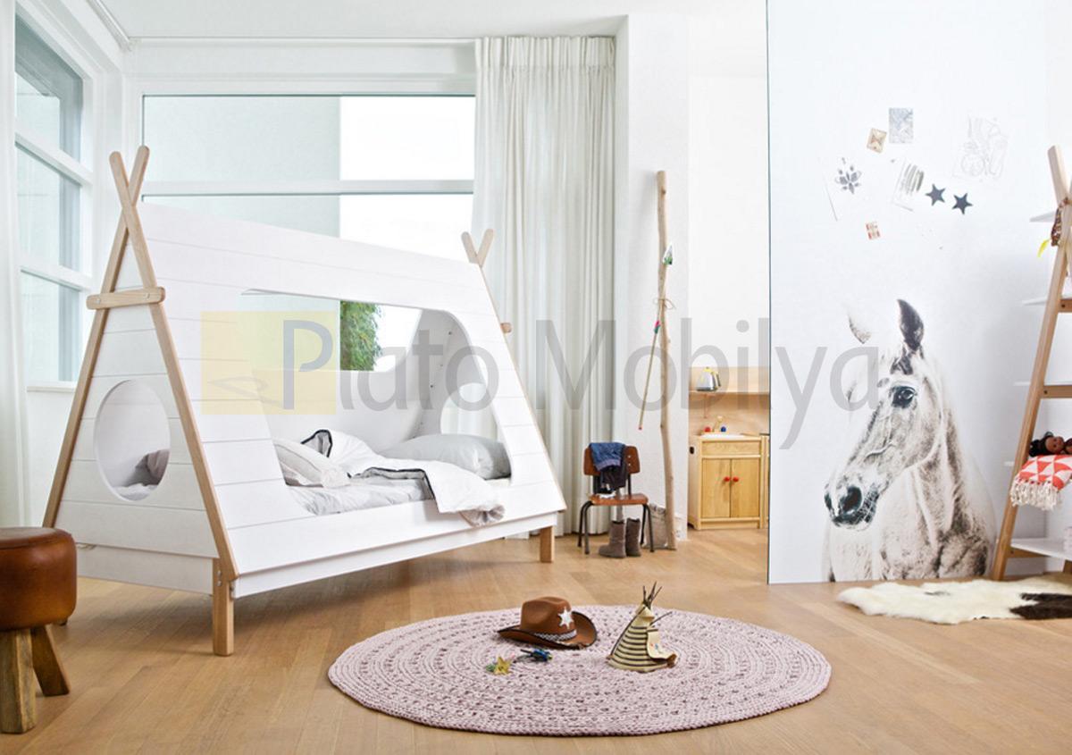 Ah ap ad rl ocuk odas cot 005 plato mobilya for Programa para decorar habitaciones