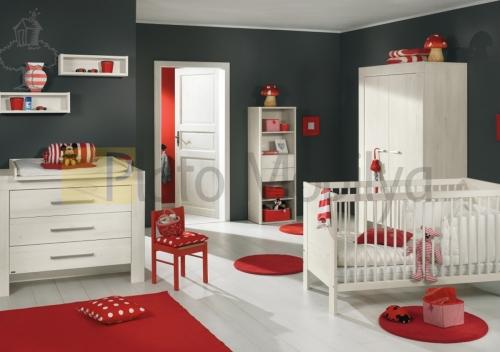 ahşap kaplama bebek odası BOT-006