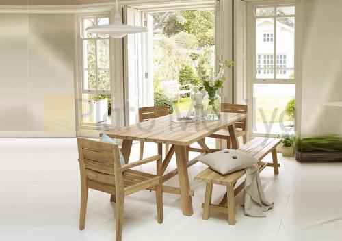 ahşap yemek masası ym 001