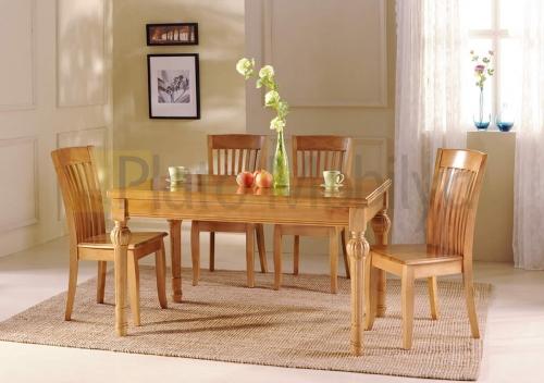 ahşap yemek masası ym 003