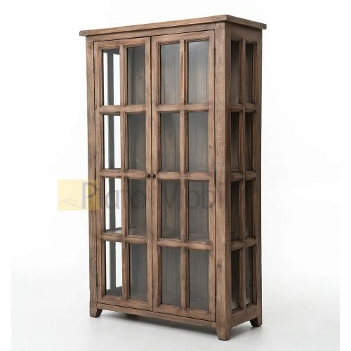 camlı vitrin kitaplık