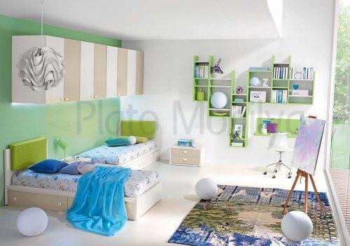 Modern Lake Genç odası GO-031