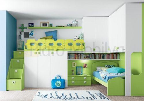 modern ranzalı genç odası go 004