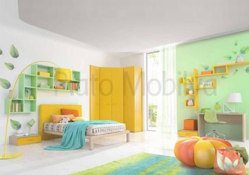 Modern Renkli Genç Odası GO-034