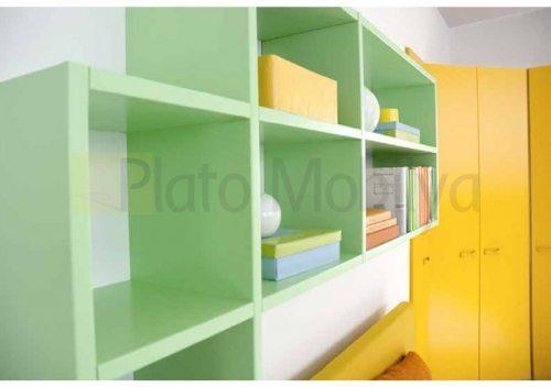 Modern Renkli Genç Odası GO-034b