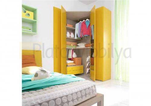 Modern Renkli Genç Odası GO-034e
