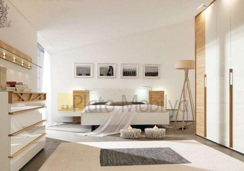 parlak lake yatak odası
