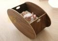 portatif ahşap bebek beşiği bb 020