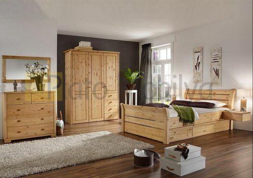 Ahşap Yatak Odası Modelleri ve Fiyatları YOT-022