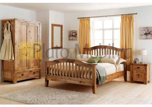 Doğal Ağaç Yatak Odası YOT-023