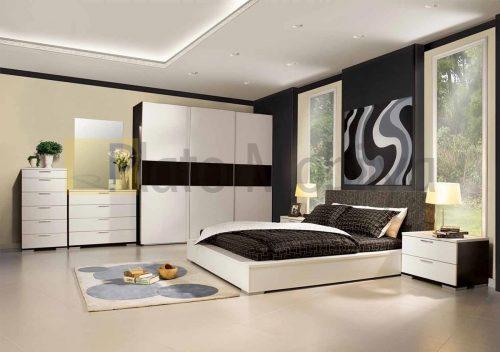 Modern Beyaz Yatak Odası YOT-028