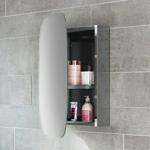 Ahşap Kaplama Banyo Dolabı  BD-007