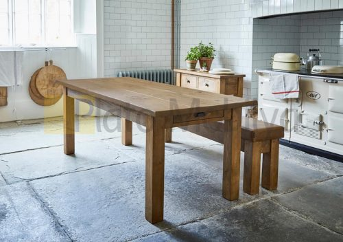 Doğal Ağaç Yemek Masası YM-015