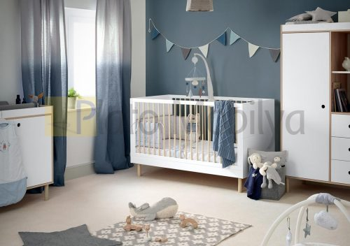 Modern Beyaz Bebek Odası BOT-038