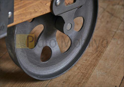 Tekerlekli Ahşap Orta Sehpa SM-014