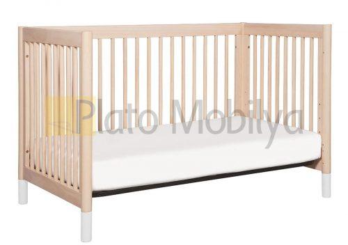 Modern Ahşap Bebek Beşiği BB-057