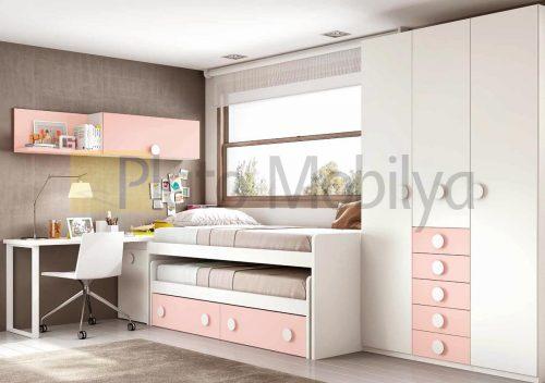 Modern Genç Kız Odası GO-040