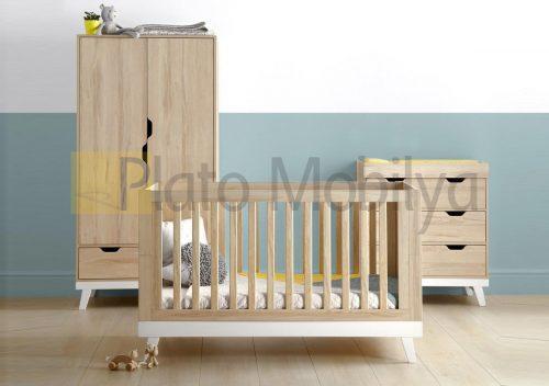 Ahşap Bebek Odası Takımı BOT-039