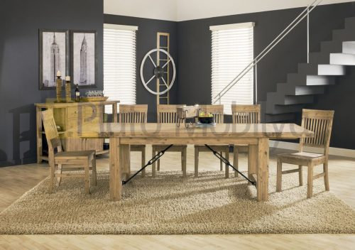 Doğal Ağaç Yemek Masası YM-019