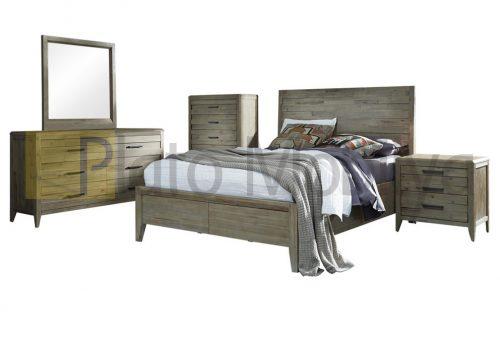 Modern Ahşap Yatak Odası YOT-032