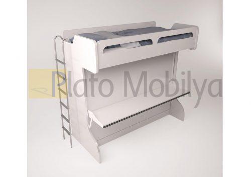 Katlanabilir Çalışma Masalı Ranza RM-083