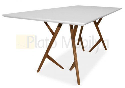 Modern Ahşap Yemek Masası YM-021