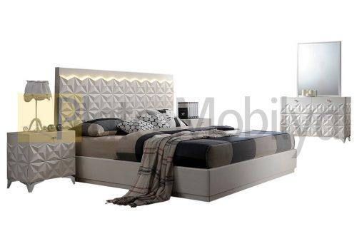 Kabartma Desenli Yatak Odası YOT-034