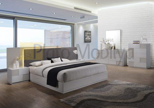 Modern Krem Yatak Odası YOT-036