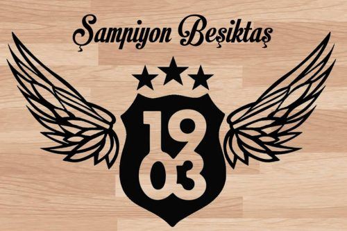 Beşiktaş Baskılı Taraftar Sehpa BS-001