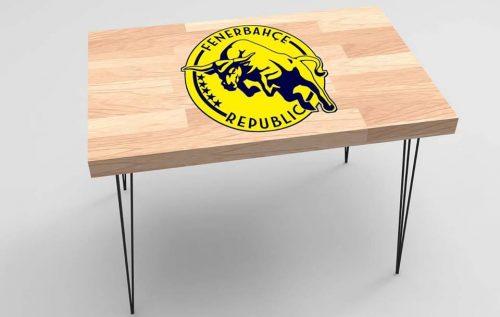 Fenerbahçe Baskılı Taraftar Sehpa BS-006