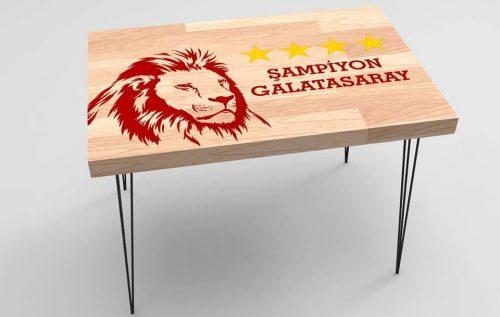 Galatasaray Baskılı Taraftar Sehpa BS-009
