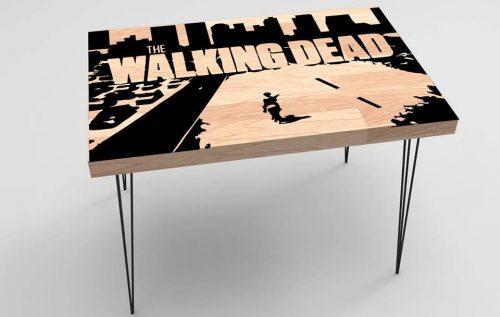 Walking Dead Baskılı Sehpa Modeli BS-023