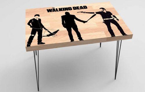 Walking Dead Baskılı Sehpa Modeli BS-022